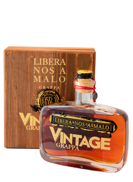 Libera Nos A Malo Vintage Grappa con cofanetto