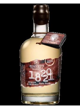 1820-21 Grappa di Moscato Porto astucciata