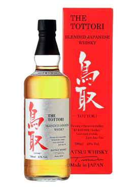 The Tottori Blended Whisky con astuccio