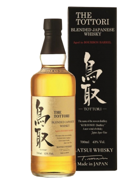 The Tottori Bourbon barrel aged Whisky con astuccio