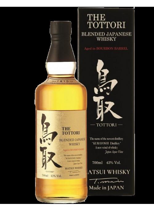 The Tottori Bourbon barrel aged Whisky con astuccio