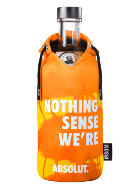 Absolut Limited Edition MSGM fluo Orange