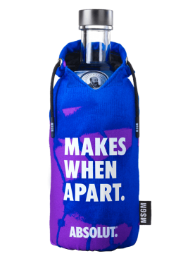 Absolut Limited Edition MSGM fluo Blue