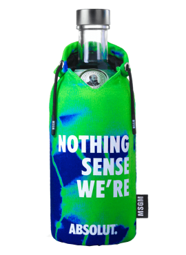 Absolut Limited Edition MSGM fluo Green