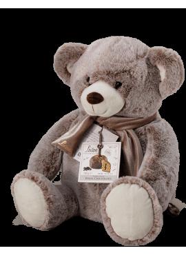 Chocolate Panettone Teddy Bear Plush