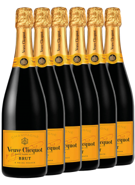 Brut Yellow Label 6 bottles