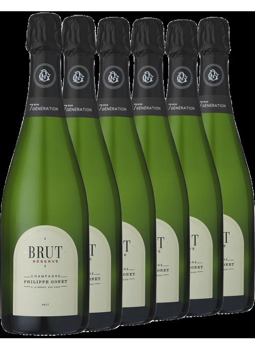 Brut Reserve 6 bottiglie
