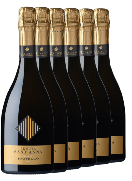 Prosecco extra dry 6 bottles