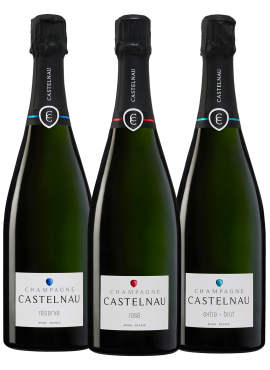 Tasting of 3 Castelnau bottles