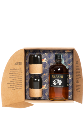 Akashi Meïsei Blended Japanese Whiskey + 2 glasses