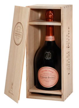 Cuvée Rosé wood boxed