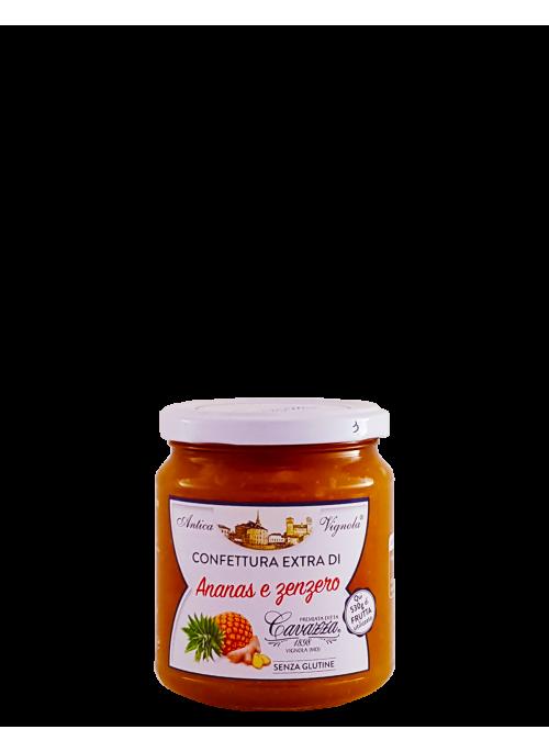 Confettura extra di Ananas e Zenzero Cavazza
