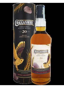 Special release 2020 Cragganmore 20 yo