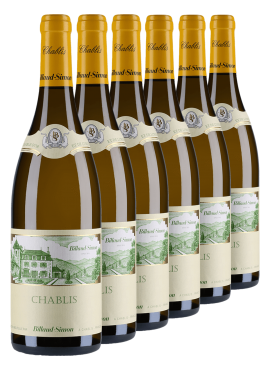 Chablis Billaud Simon 6 bottles
