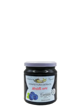 Confettura extra of Blueberries Cavazza
