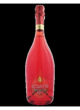 Prosecco Accademia bottiglia Rossa