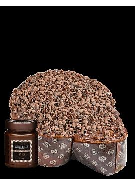 Colomba 3 Cioccolati con Crema