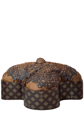 Colomba Marron Noir Fiasconaro