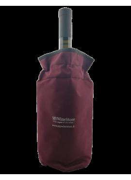Burgundy color Bottle Cooler Bag