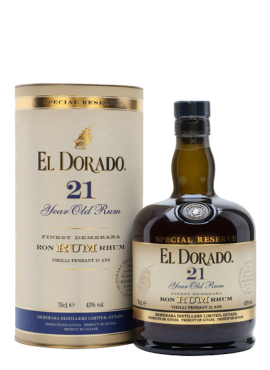 Rum El Dorado 21 yo