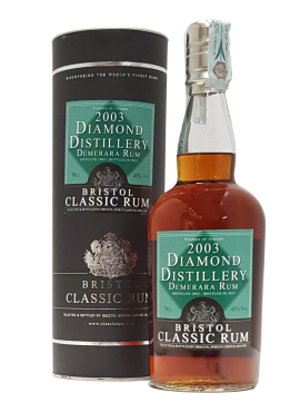 Rum Demerara 2003 Diamond Distillery Bristol Spirits