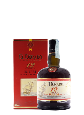 Rum El Dorado 12 yo