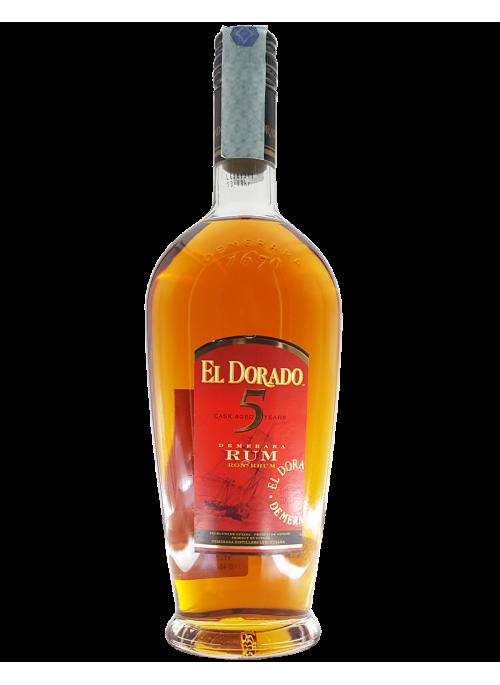 Rum El Dorado 5 yo