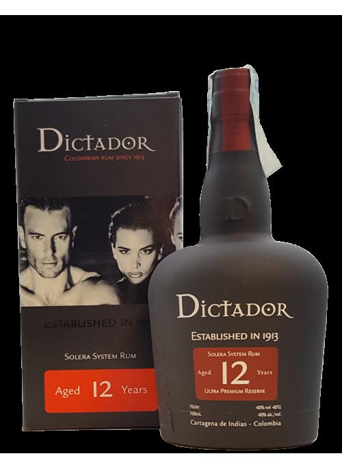 Rum Dictador 12 yo