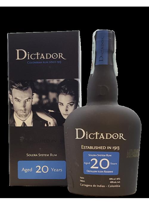 Rum Dictador 20 yo