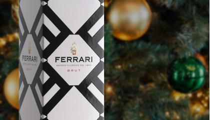 Ferrari: spumante per festeggiare e arte da sfoggiare