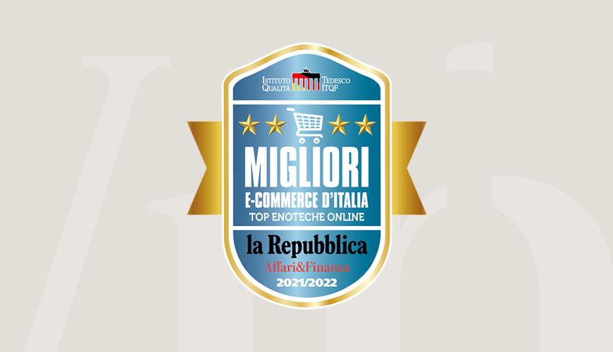 Migliori siti e-commerce d'Italia: siamo tra le top enoteche online!